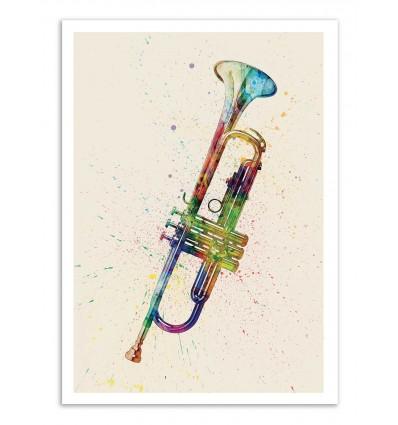 Art-Poster - Trumpet - Michael Tompsett