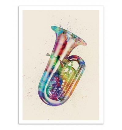 Art-Poster - Tuba - Michael Tompsett