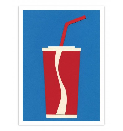 Art-Poster - Cup of Coke - Rosi Feist