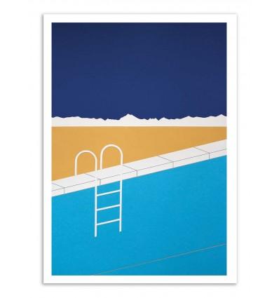 Art-Poster - Desert Pool - Rosi Feist