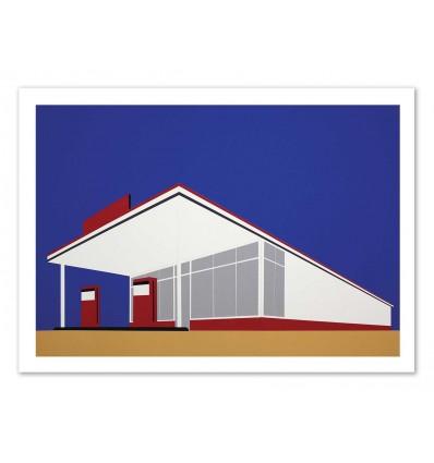 Art-Poster - Gas station - Rosi Feist
