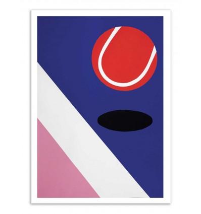 Art-Poster - Miami Tennis club - Rosi Feist