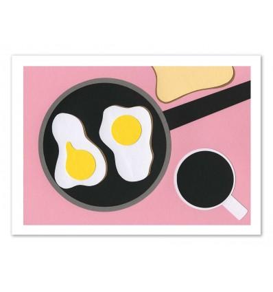 Art-Poster - Mr D'z Breakfast - Rosi Feist