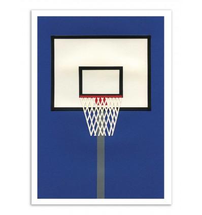 Art-Poster - Oakland Basketball Team - Rosi Feist