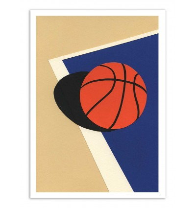 Art-Poster - Oakland Basketball Team Version 2 - Rosi Feist