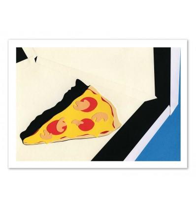 Art-Poster - The last slice - Rosi Feist