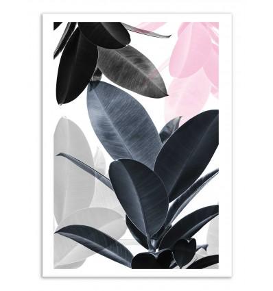 Art-Poster - Leaf play - Sisi and Seb