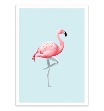 Art-Poster - Flamingo Mannequin - Jonas Loose