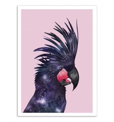 Art-Poster - Galaxy bird - Jonas Loose