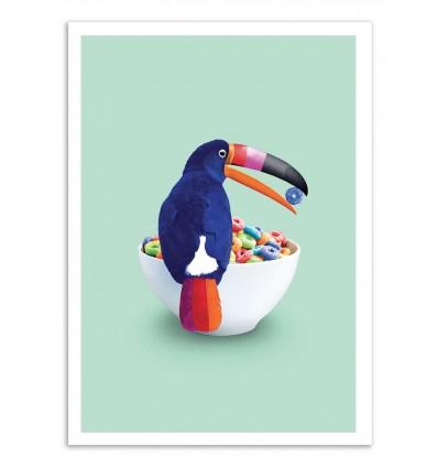 Art-Poster - Loop Toucan - Jonas Loose