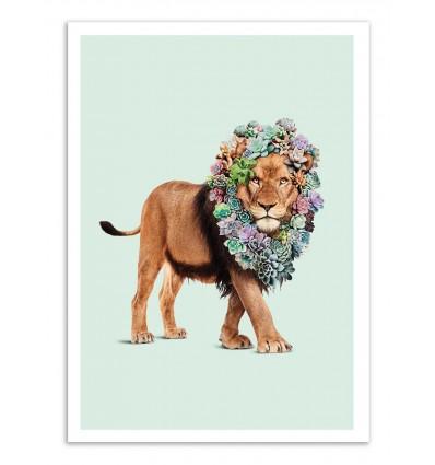 Art-Poster - Succulent lion - Jonas Loose