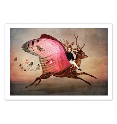 Art-Poster - Enjoy the ride - Catrin Welz-Stein