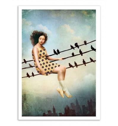Art-Poster - Hangin There - Catrin Welz-Stein
