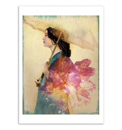 Art-Poster - Kimono - Catrin Welz-Stein