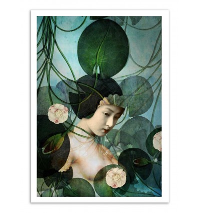Art-Poster - Tangled - Catrin Welz-Stein