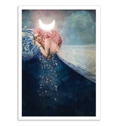 Art-Poster - The sleep - Catrin Welz-Stein