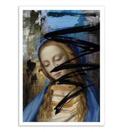 Art-Poster - Blue - José Luis Guerrero
