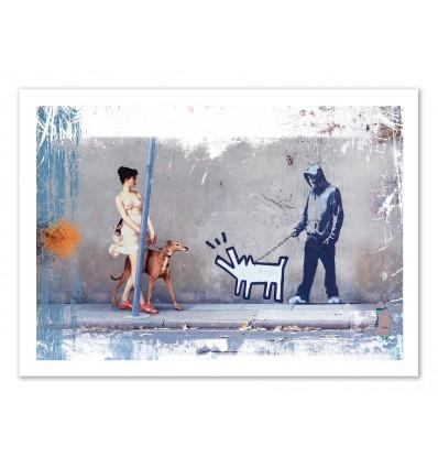 Art-Poster - Casimir, Haring and Banksy - José Luis Guerrero