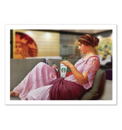 Art-Poster - Coffee Time - José Luis Guerrero