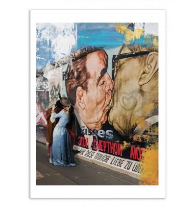Art-Poster - Kisses - José Luis Guerrero