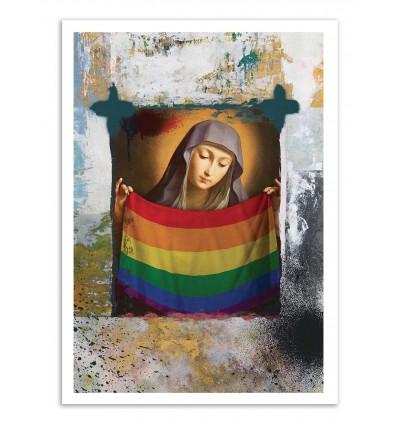 Art-Poster - LGBTTTIQ - José Luis Guerrero
