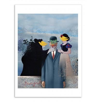 Art-Poster - Magritte - José Luis Guerrero