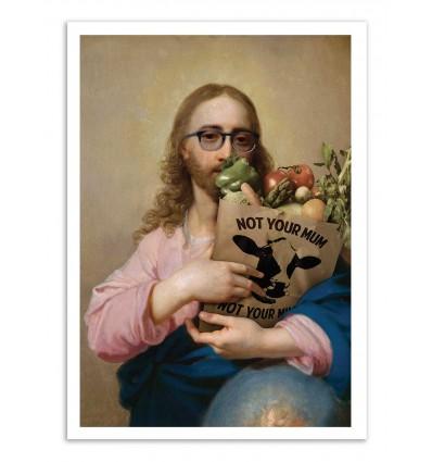 Art-Poster - New Religion - José Luis Guerrero