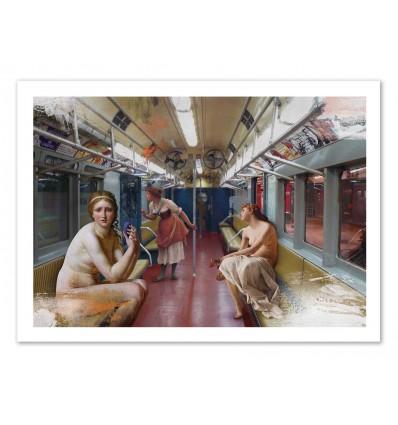 Art-Poster - Subway - José Luis Guerrero