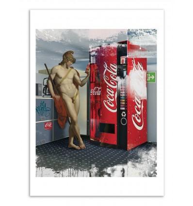 Art-Poster - Taking a break - José Luis Guerrero