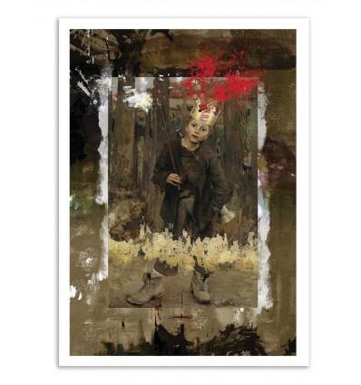 Art-Poster - The King - José Luis Guerrero
