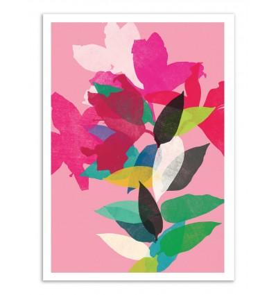 Art-Poster - Pink Lily - Garima Dhawan