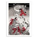 Art-Poster - Akira - Joshua Budich