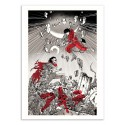 Art-Poster 50 x 70 cm - Akira - Joshua Budich