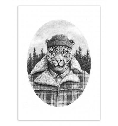Art-Poster - Lumberjack - Mike Koubou