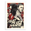 Art-Poster 50 x 70 cm - Fight Club - Joshua Budich