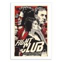 Art-Poster 50 x 70 cm - Fight Club -  Joshua Budich
