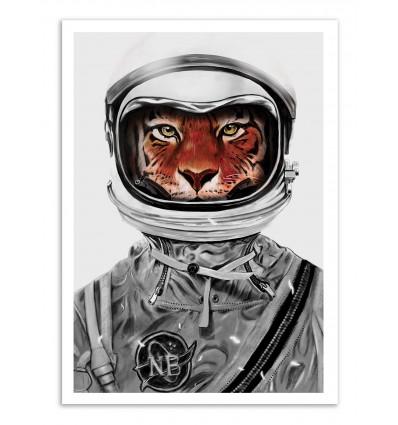 Art-Poster - Astro Tiger - Nicebleed
