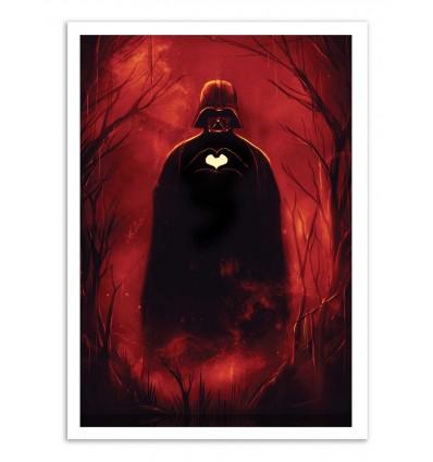 Art-Poster - Heart Vader - Nicebleed