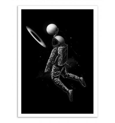Art-Poster - Saturn Dunk - Nicebleed