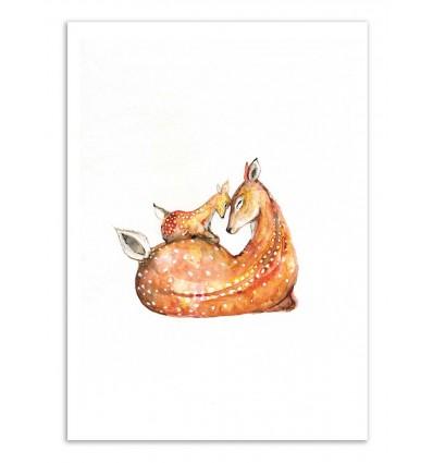 Art-Poster - Doh a deer - Marc Allante