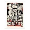 Art-Poster - Reservoir dogs - Joshua Budich