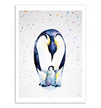 Art-Poster - Little steps - Marc Allante