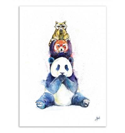 Art-Poster - Pandamonium - Marc Allante