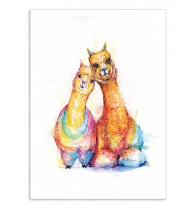 Art-Poster - Packa Alpaca - Marc Allante