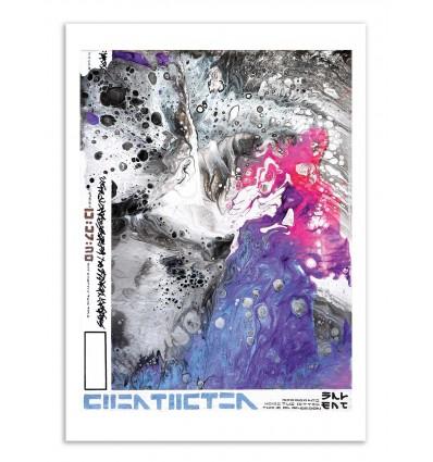 Art-Poster - Silent listen - Nishe