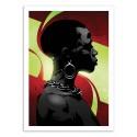 Art-Poster 50 x 70 cm - Andile - Nikita Abakumov