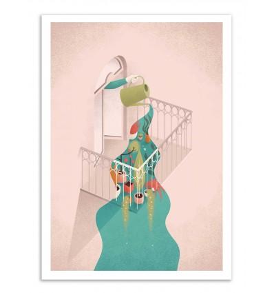 Art-Poster - Balcony - Andrea de Santis