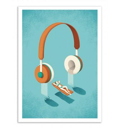 Art-Poster - Flowing - Andrea de Santis