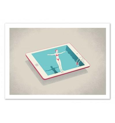 Art-Poster - Happiness - Andrea de Santis