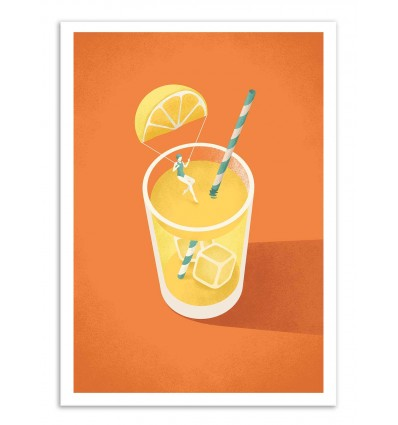 Art-Poster - Lemonade - Andrea de Santis